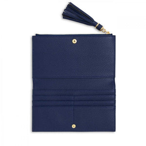 Katie Loxton Tassel Fold Out Wallet - Navy