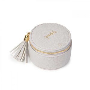 Katie Loxton Small Circle Jewelry Box - Sparkle