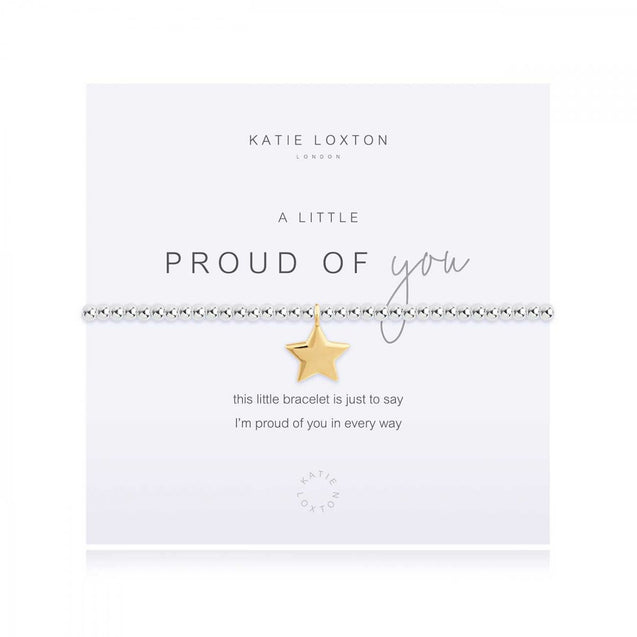 "Katie Loxton ""A Little"" Proud of You Bracelet"