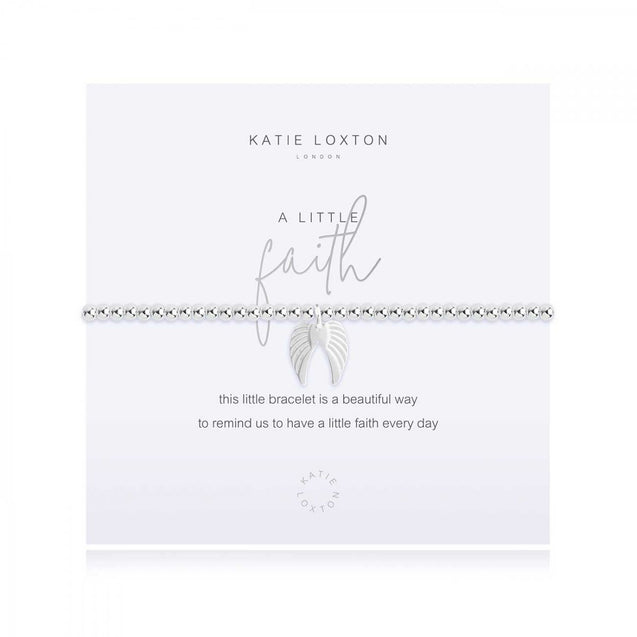 "Katie Loxton ""A Little"" Faith Bracelet"
