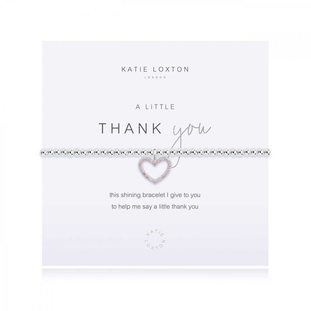 "Katie Loxton ""A Little"" Thank You Bracelet"