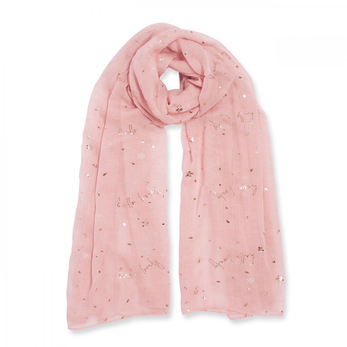 Katie Loxton Sentiment Scarf - Hello Lovely