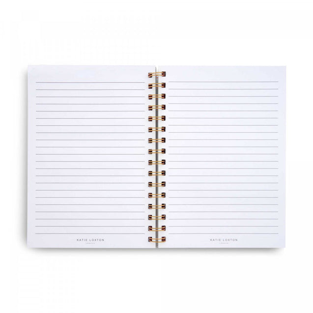 Katie Loxton Spiral Notebook - Happiness