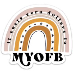 MYOFB Sticker