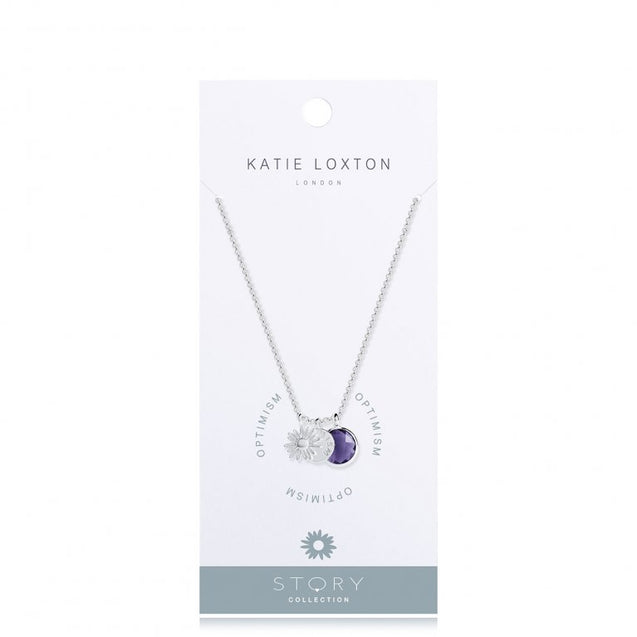 "Katie Loxton Story Collection ""Optimism"" Necklace"