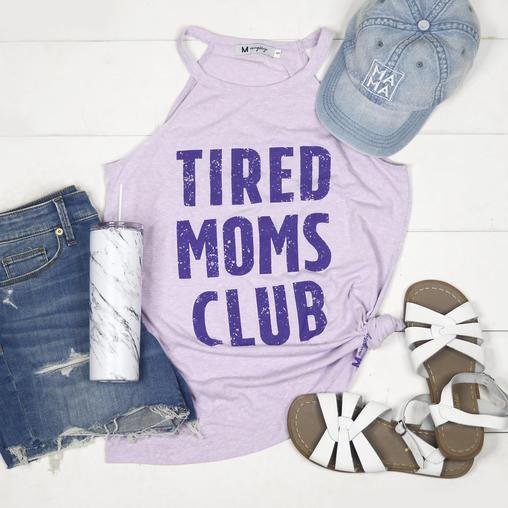 *Pre-Sale* Tired Mom's Club Rocker Tank