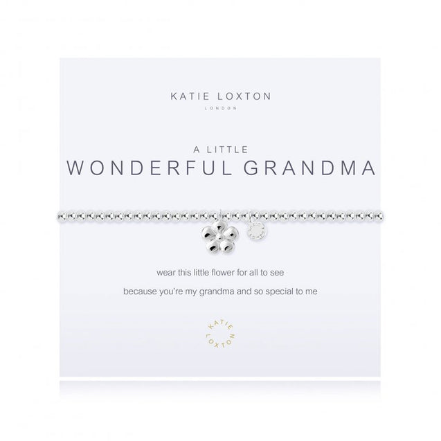 "Katie Loxton ""A Little"" Wonderful Grandma"" Bracelet"
