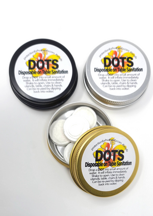 DOTS disposable on table sanitation!