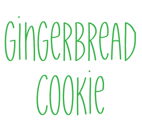 Gingerbread Cookie - Friday, Ladies Lunch