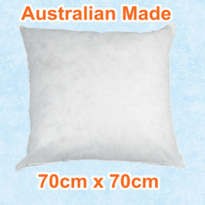 Cushion Insert Aus Made Polyester Premium Lofty Fibre Multi Size Available