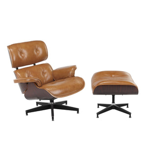 Eames Replica Lounge Chair & Ottoman