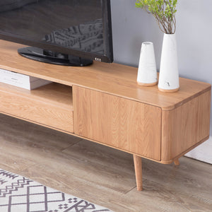 Eden Oak 2m Large TV Unit