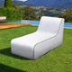 Nautical White Luxury Memory Foam Outdoor Lounge - sweet pea interiors