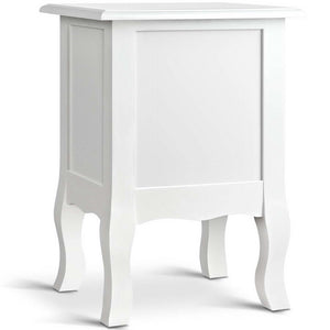 White Annie Bedside Table