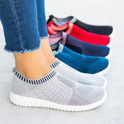 Breathable Women Shoes Mesh Comfy Big Size Loafers Sneakers - Chicshoeshop