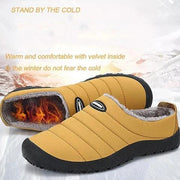 Indoor Outdoor Slip On Fur Boots Waterproof Winter Women Boots