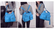 3 in 1 Waterproof Double Shoulder Bag Women Nylon Bag High Quality