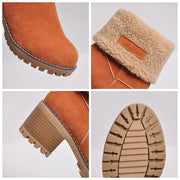 Winter Fur Warm Snow Boots - Chicshoeshop