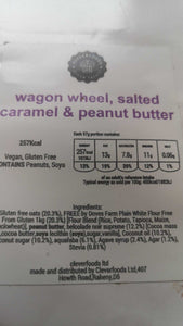Salted caramel wagon wheel