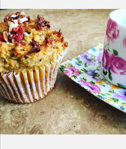 Quinoa and banana muffin