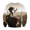 3D All Over Print Bowhunting Hoodie and Shirts-Apparel-NTT-Sweatshirt-S-Vibe Cosy™