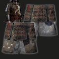 3D All Over Printed Dragon Samurai Armor-Apparel-HP Arts-SHORTS-S-Vibe Cosy™