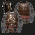 3D All Over Printed Dragon Samurai Armor-Apparel-HP Arts-Sweatshirt-S-Vibe Cosy™