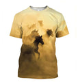 3D All Over Print Amazing Horses-Apparel-NTT-T-Shirt-S-Vibe Cosy™