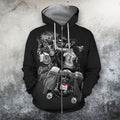 3D All Over Print Born To Be Wild Hoodie and Shirts-Apparel-NTT-ZIPPED HOODIE-S-Vibe Cosy™