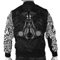 Vikings - Odin Tatoo Style - Amaze Style™-ALL OVER PRINT HOODIES