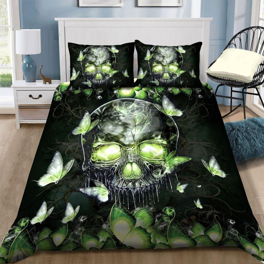 Butterfly Skull Bedding Set TA0708205-Quilt-TA-Twin-Vibe Cosy™