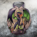 3D All Over Print Grape Dragon-Apparel-PHLong-Hoodie-S-Vibe Cosy™