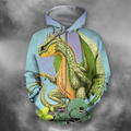 3D All Over Print Cantaloupe Dragon-Apparel-PHLong-Zip-S-Vibe Cosy™