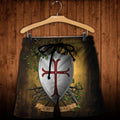 3D All Over Printed Knights Templar Shirts and Shorts-Knights Templar-RoosterArt-Shorts-XS-Vibe Cosy™