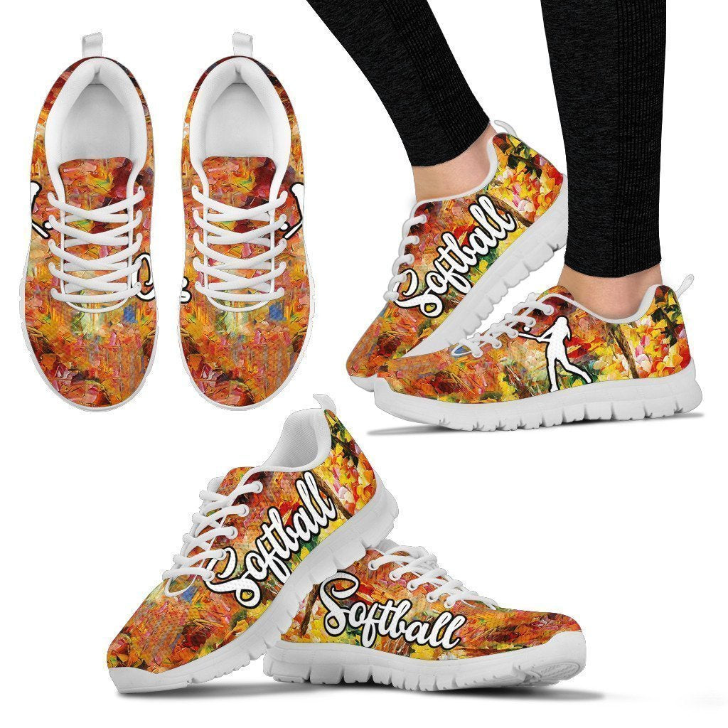 SOFTBALL Women's Sneakers-6teenth World™-Women's Sneakers-US5 (EU35)-Vibe Cosy™