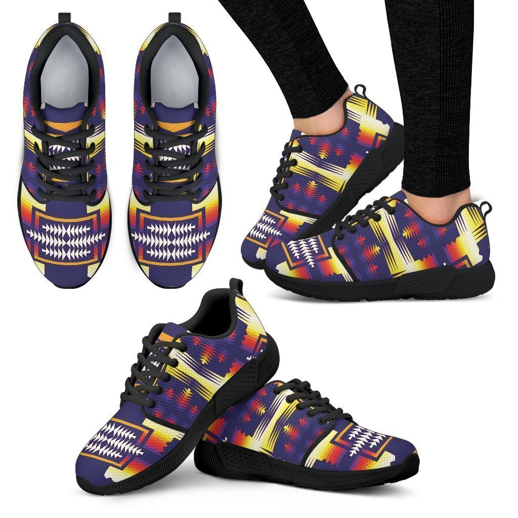 Southwest Rainbow Sage Sopo Women's Athletic Sneakers-6teenth World™-Women's Athletic Sneakers-US5 (EU35)-Vibe Cosy™
