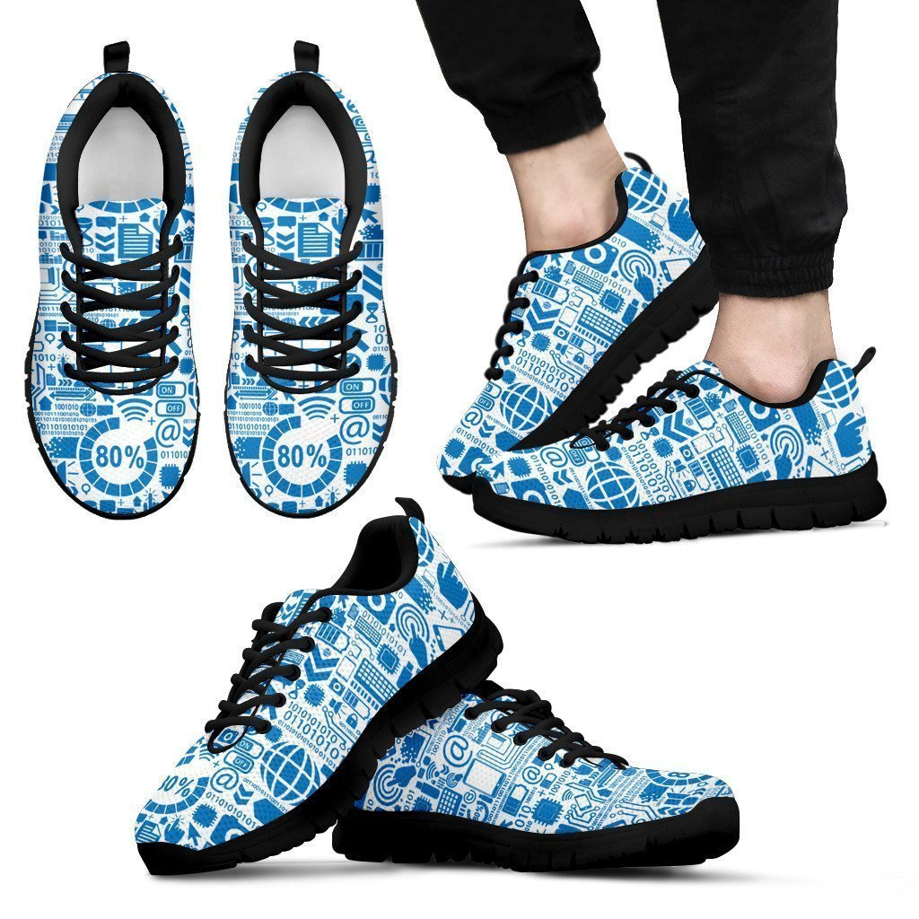 social networking men's Sneakers-6teenth World™-Men's Sneakers-US5 (EU38)-Vibe Cosy™