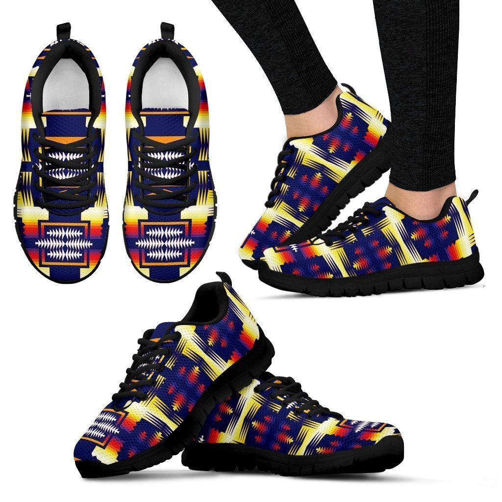 Southwest Rainbow Sage Women's Sneakers-6teenth World™-Women's Sneakers-US5 (EU35)-Vibe Cosy™