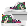 Sugar Skull-shoes-6teenth Outlet-Womens High Top - White - Sugar Skull-US5.5 (EU36)-Vibe Cosy™