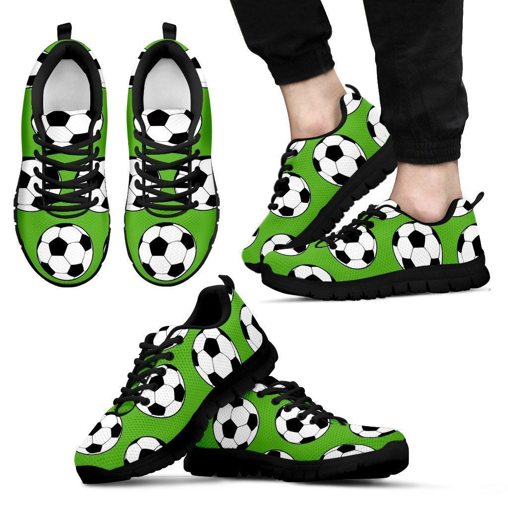 Soccer Shoes-Shoes-6teenth Outlet-Men's Sneakers - Black - Soccer Shoes-US5 (EU38)-Vibe Cosy™