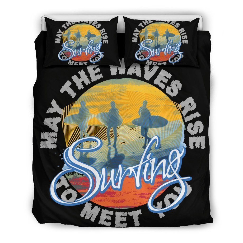 Surfing Bedding Set-6teenth World™-Bedding Set-Twin-Vibe Cosy™