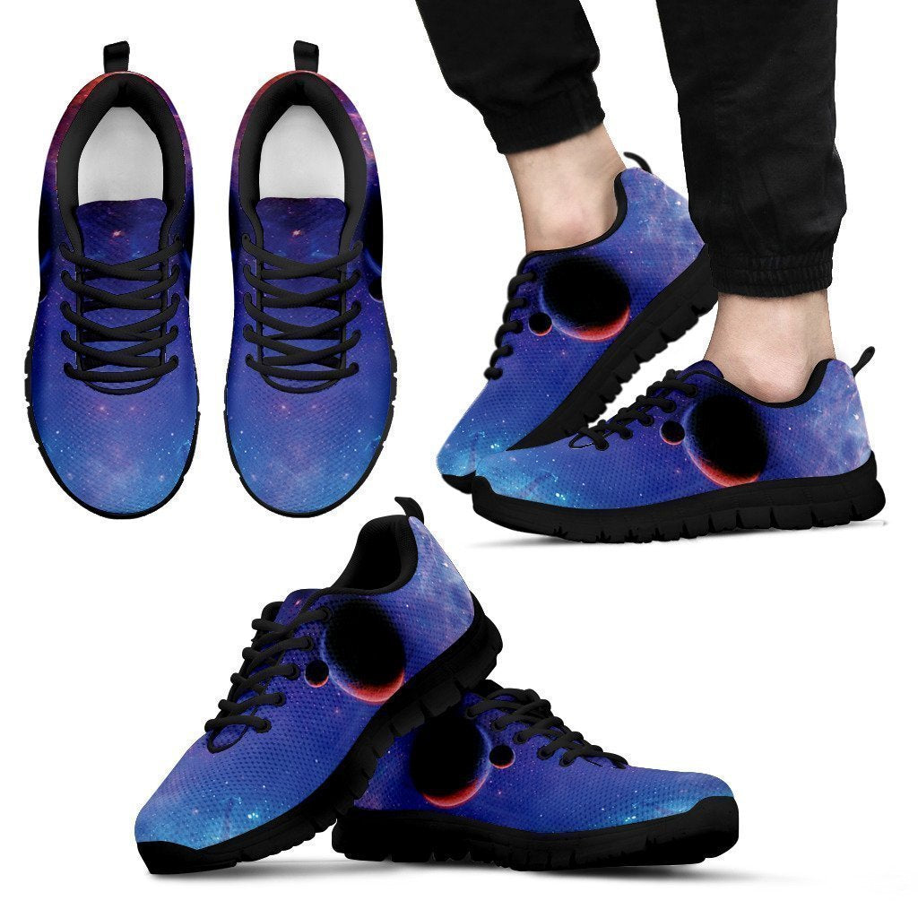 Space Shoes-Shoes-6teenth Outlet-Men's Sneakers - Black - Space Shoes-US5 (EU38)-Vibe Cosy™