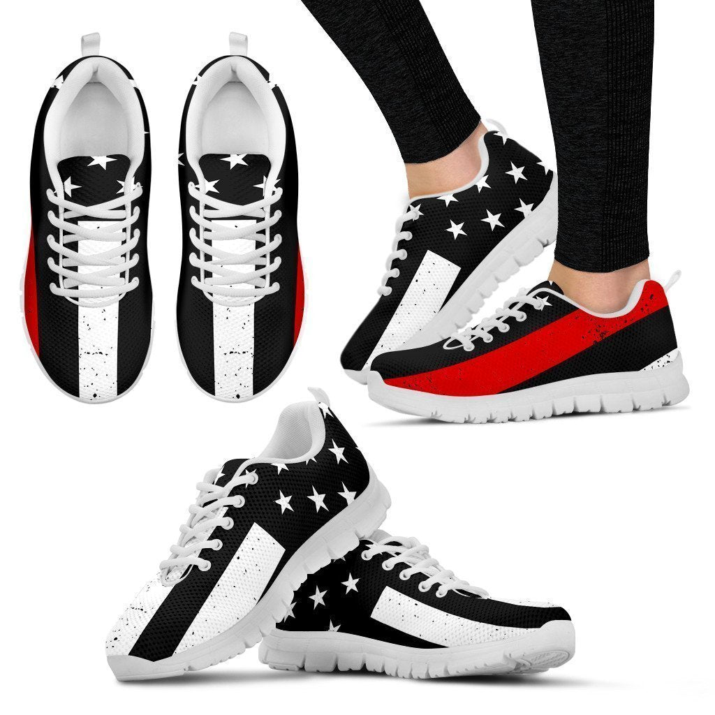 Thin Red Line Women's Sneakers-6teenth World™-Women's Sneakers-US5 (EU35)-Vibe Cosy™