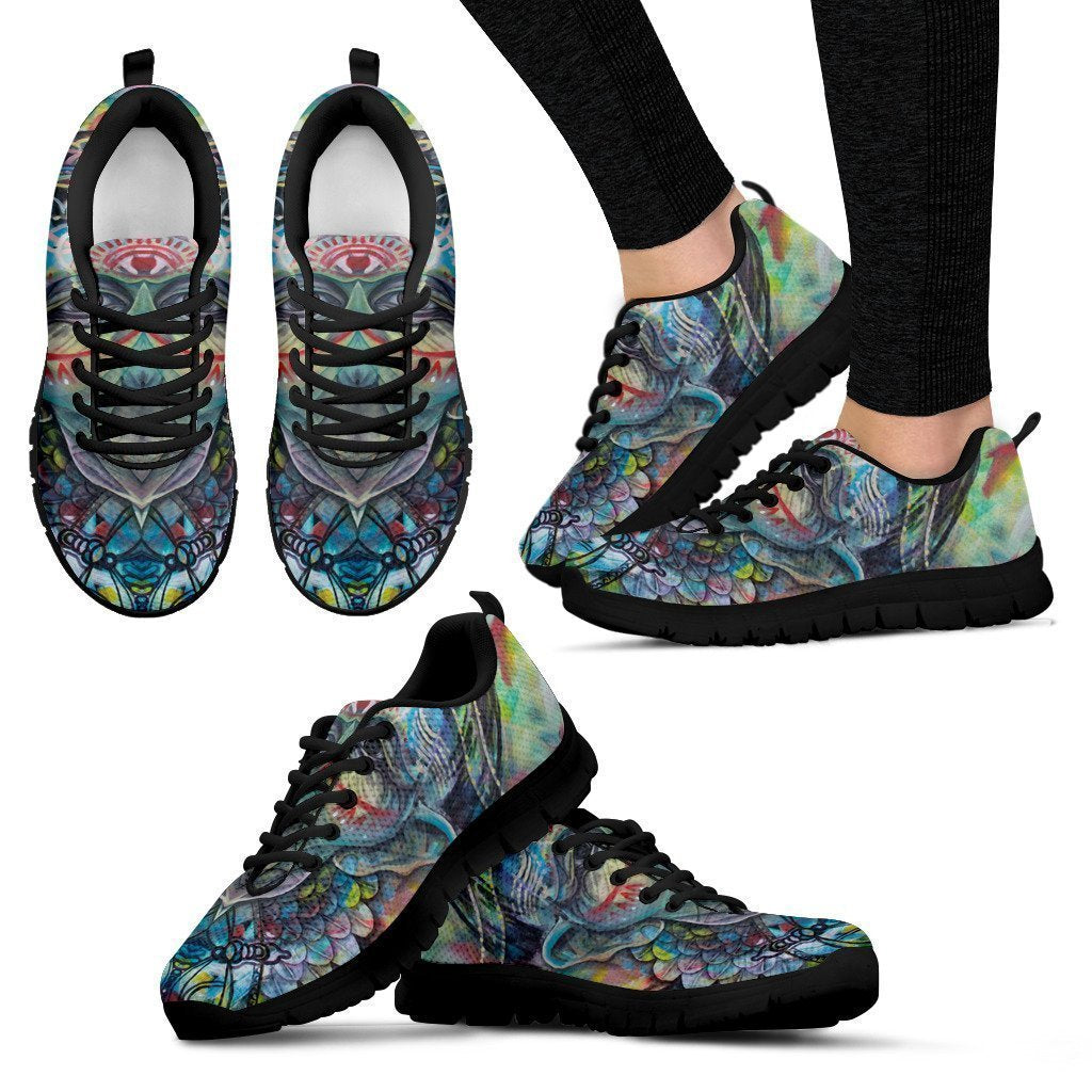 The Shaman - Women's Sneakers-6teenth World™-Women's Sneakers-US5 (EU35)-Vibe Cosy™