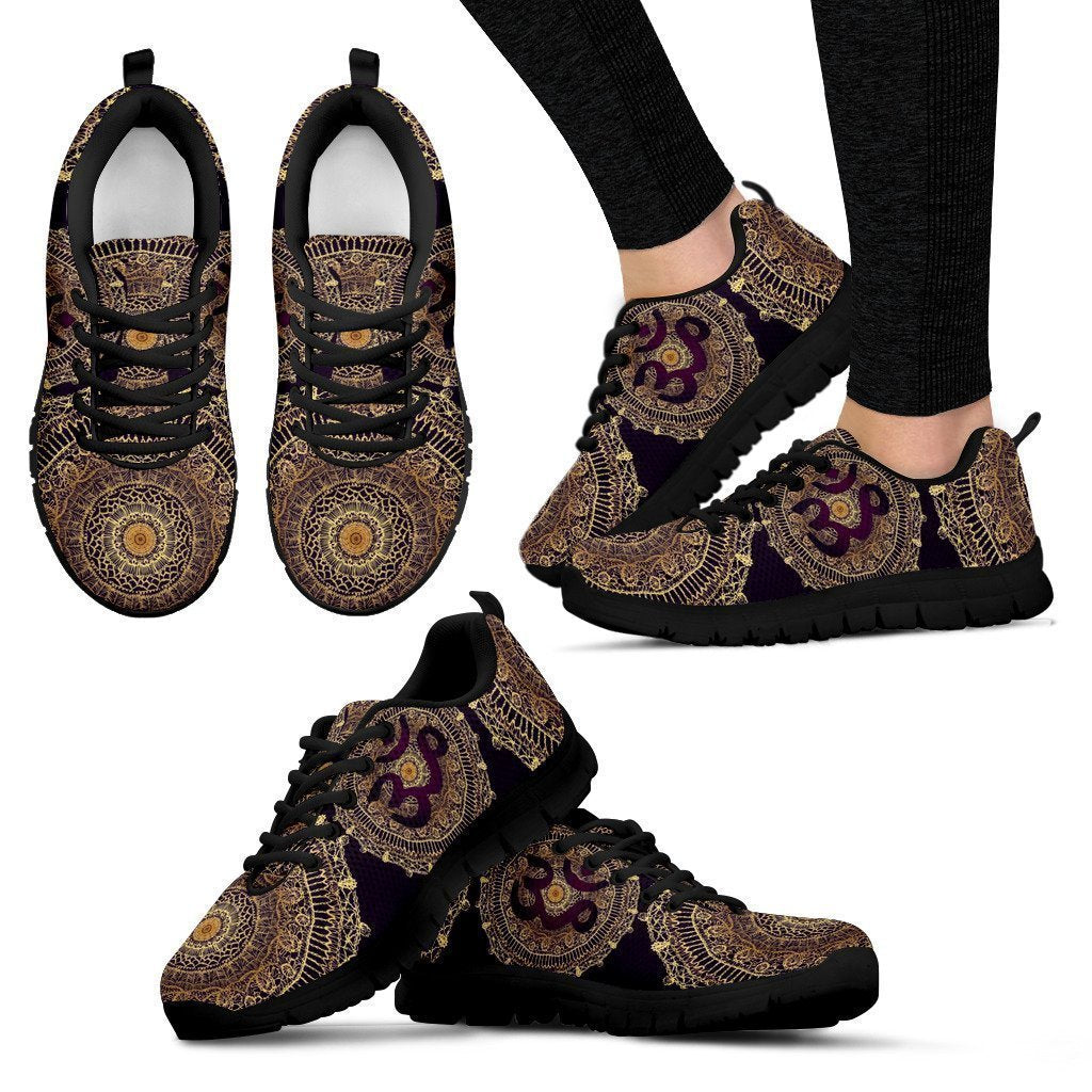 Brown Manadala Women's Sneakers-6teenth World™-Women's Sneakers-US5 (EU35)-Vibe Cosy™