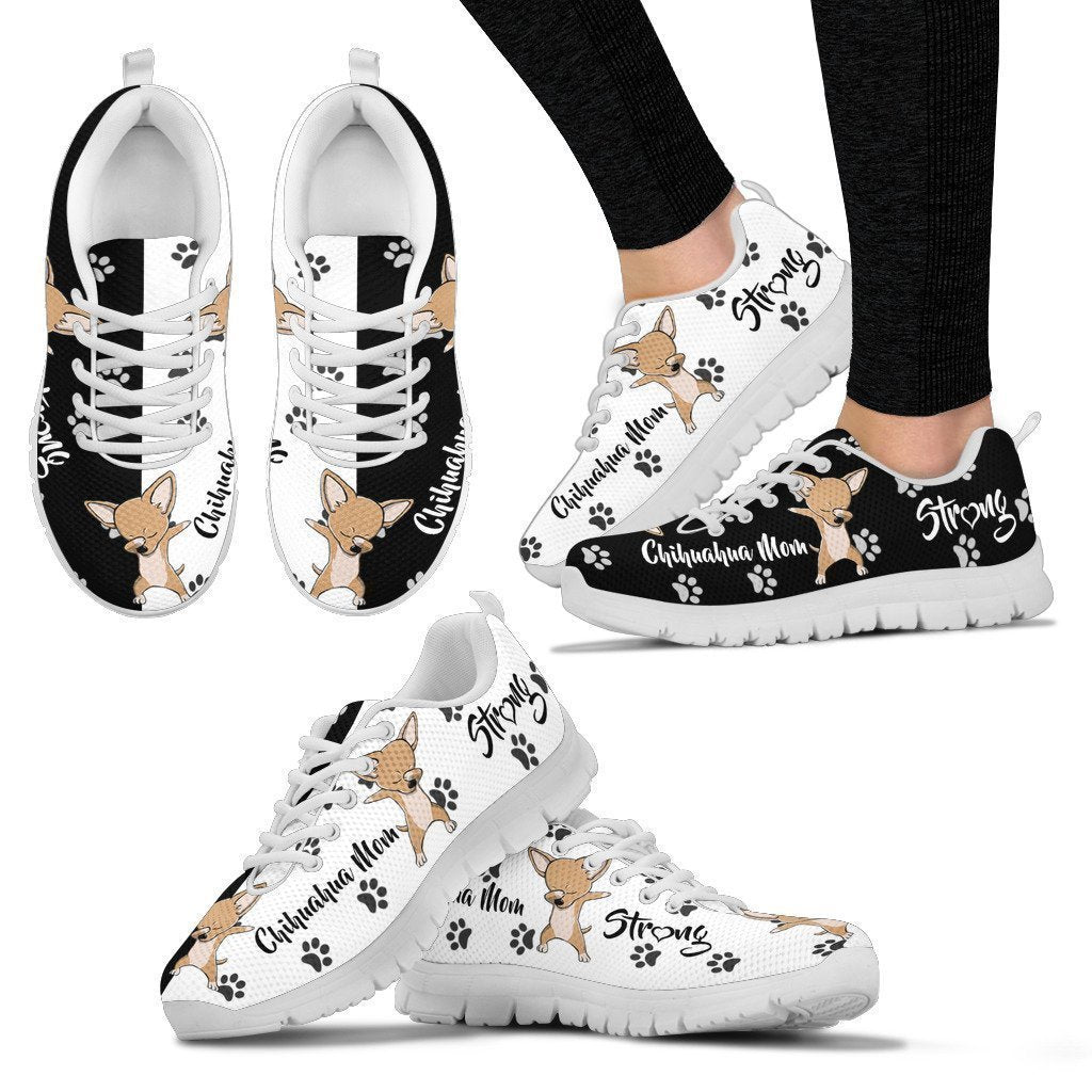 Chihuahua Women's Sneakers-6teenth World™-Women's Sneakers-US5 (EU35)-Vibe Cosy™