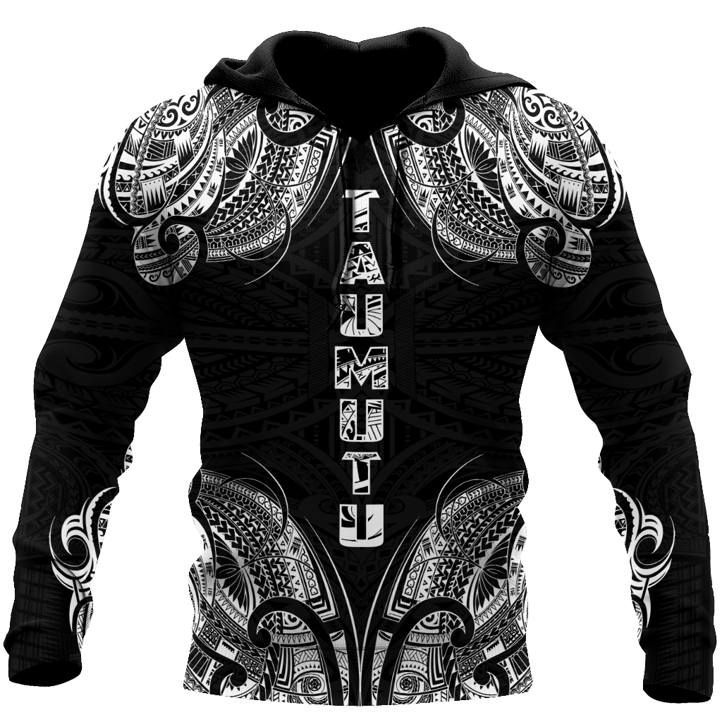 New zealand maori taumutu tattoo 3d all over printed shirt and short for man and women HHT20072002-Apparel-PL8386-Hoodie-S-Vibe Cosy™