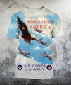 American Air Force Shirts-Apparel-HP Arts-T-Shirt-S-Vibe Cosy™