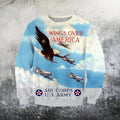 American Air Force Shirts-Apparel-HP Arts-Sweatshirt-S-Vibe Cosy™