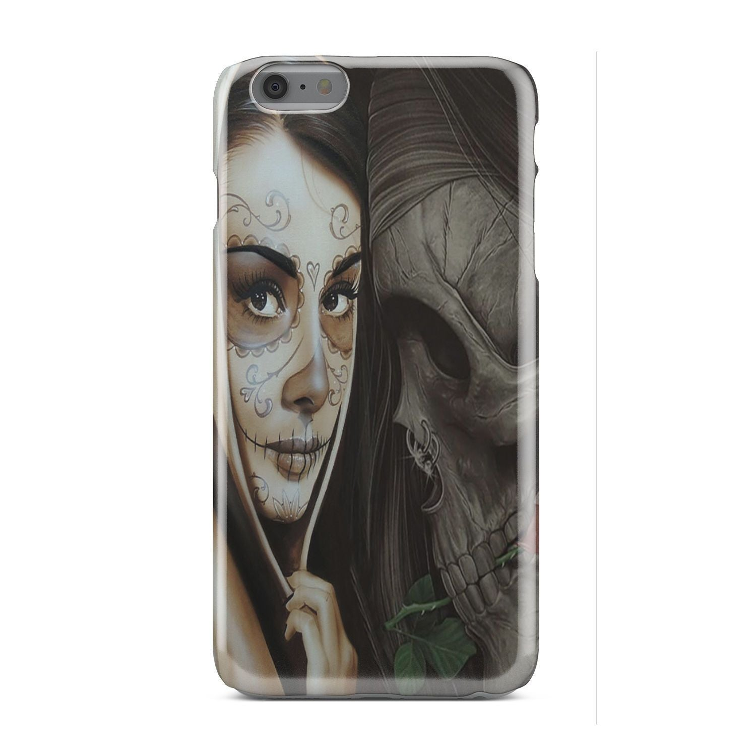 Sugar Skull Lover Phone case-Phone Case-wc-fulfillment-iPhone X-Vibe Cosy™